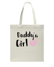 DADDY'S GIRL Tote Bag thumbnail