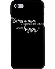 BEING A MOM Phone Case thumbnail