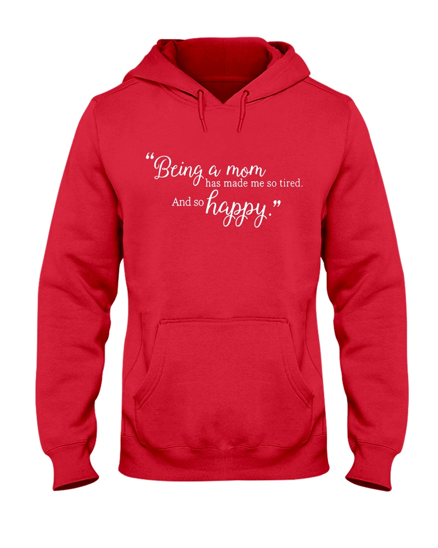 BEING A MOM Hooded Sweatshirt