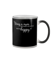 BEING A MOM Color Changing Mug thumbnail