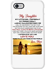 MY DAUGHTER MY LITTLE GIRL I LOVE YOU Phone Case thumbnail