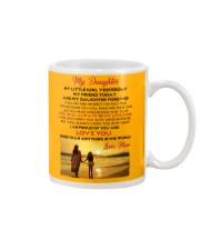 MY DAUGHTER MY LITTLE GIRL I LOVE YOU Mug front