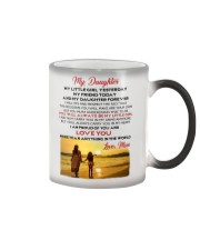 MY DAUGHTER MY LITTLE GIRL I LOVE YOU Color Changing Mug thumbnail