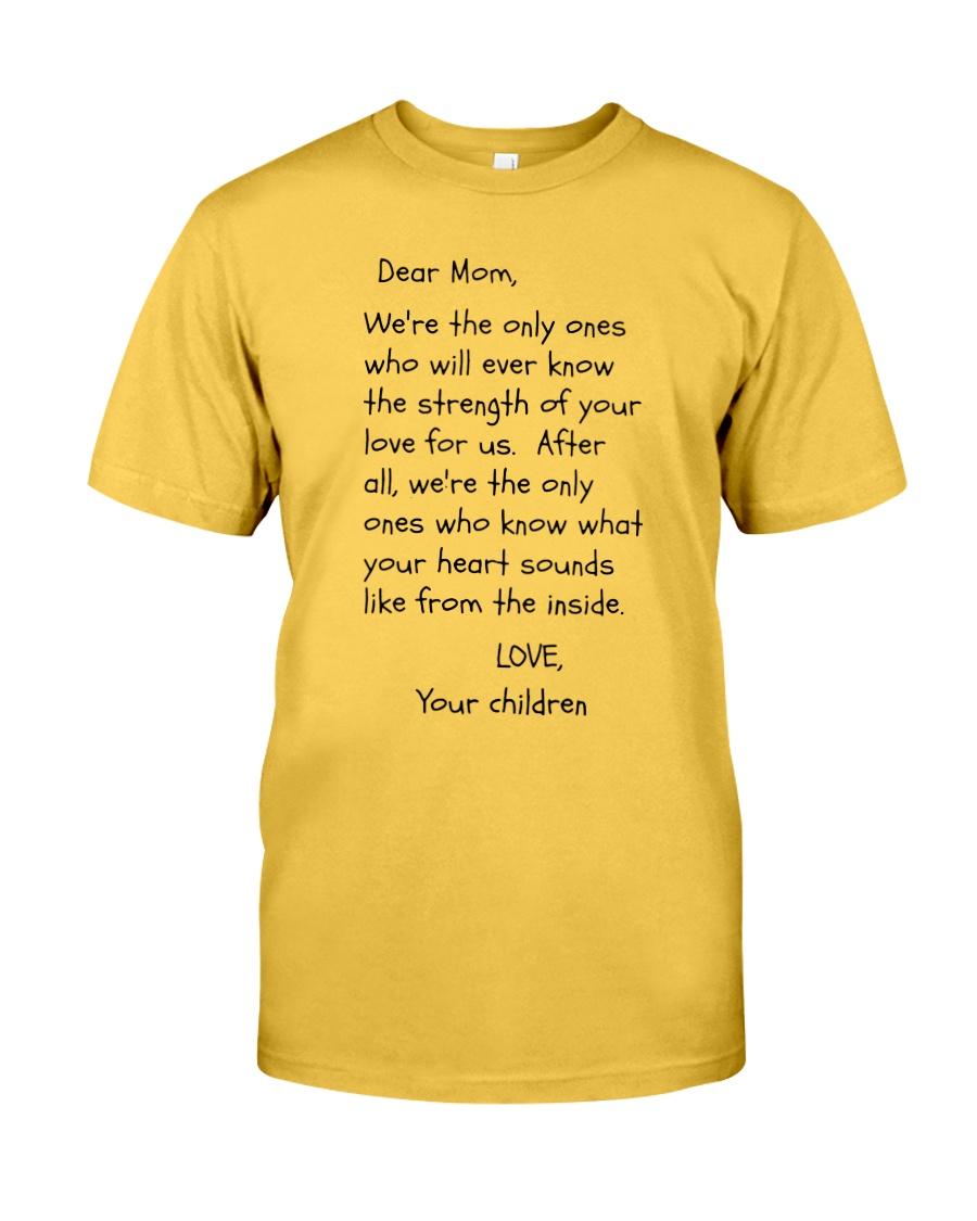 DEAR MOM Classic T-Shirt