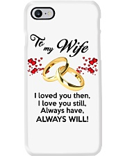 To My Wife I Love You  Phone Case tile