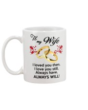 To My Wife I Love You  Mug back