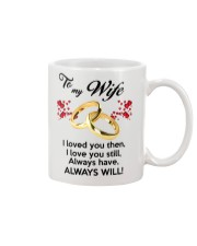 To My Wife I Love You  Mug tile