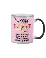 To My Wife I Love You  Color Changing Mug color-changing-right