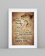 To My Grandson From Grandma 11x17 Poster lifestyle-poster-5
