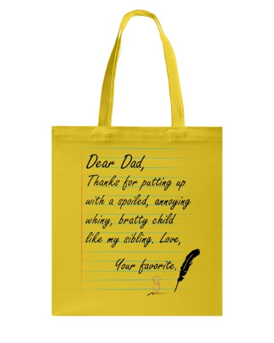 DEAR DAD THANKS FOR LOVEING ME
