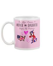 MOTHER AND DAUGHTER Mug back