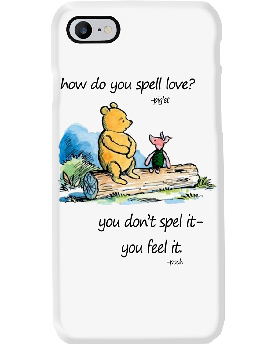 HOW DO YOU SPELL LOVE Phone Case