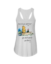 HOW DO YOU SPELL LOVE Ladies Flowy Tank thumbnail
