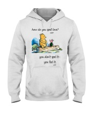 HOW DO YOU SPELL LOVE Hooded Sweatshirt thumbnail