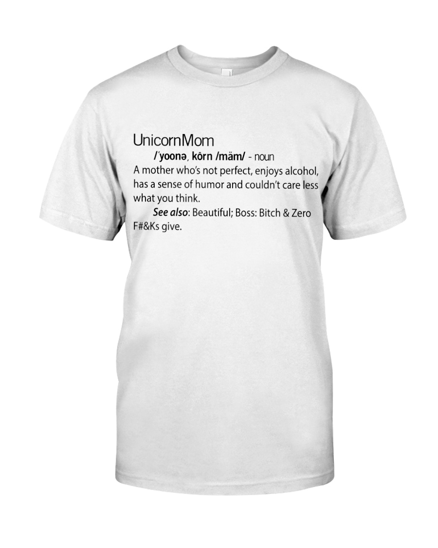 UNICORN MOM Classic T-Shirt showcase