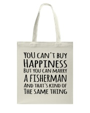 FISHING HAPPINESS Tote Bag thumbnail