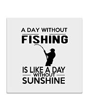 FISHING HAPPINESS Square Coaster thumbnail