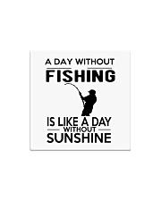 FISHING HAPPINESS Square Magnet thumbnail