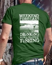 WEEKEND FORECAST Classic T-Shirt lifestyle-mens-crewneck-back-2