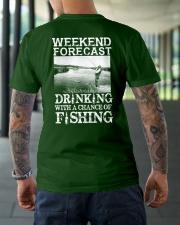 WEEKEND FORECAST Classic T-Shirt lifestyle-mens-crewneck-back-3