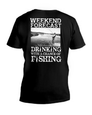 WEEKEND FORECAST V-Neck T-Shirt thumbnail