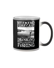 WEEKEND FORECAST Color Changing Mug thumbnail