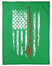 "AMERICAN FISHING Small Fleece Blanket - 30"" x 40"" thumbnail"