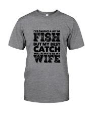 FISHING WIFE Classic T-Shirt front