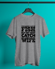 FISHING WIFE Classic T-Shirt lifestyle-mens-crewneck-front-3
