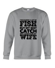 FISHING WIFE Crewneck Sweatshirt thumbnail