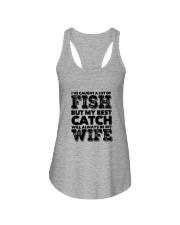 FISHING WIFE Ladies Flowy Tank thumbnail