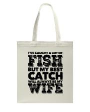 FISHING WIFE Tote Bag thumbnail