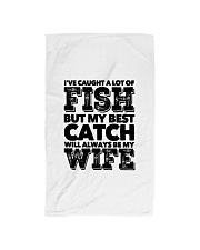 FISHING WIFE Hand Towel thumbnail