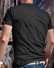 FISHERMAN NUTRITION FACTS Classic T-Shirt lifestyle-mens-crewneck-back-2