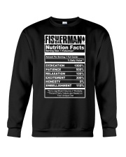 FISHERMAN NUTRITION FACTS Crewneck Sweatshirt thumbnail