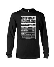 FISHERMAN NUTRITION FACTS Long Sleeve Tee thumbnail