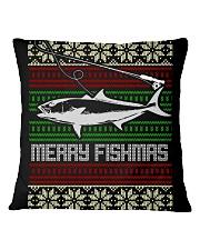 MERRY FISHMAS Square Pillowcase thumbnail