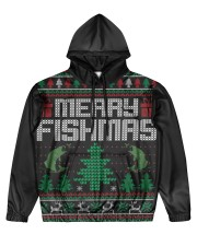 MERRY FISHMAS Men's All Over Print Hoodie thumbnail