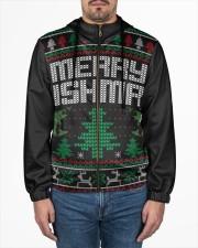 MERRY FISHMAS Men's All Over Print Full Zip Hoodie aos-complex-men-zip-hoodie-lifestyle-front-01