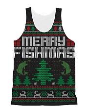 MERRY FISHMAS All-over Unisex Tank thumbnail