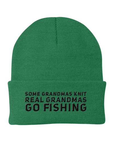 REAL GRANDMAS GO FISHING