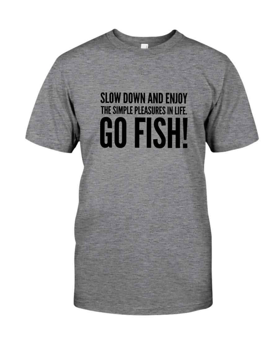 FISHING PLEASURES Classic T-Shirt