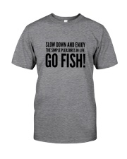 FISHING PLEASURES Classic T-Shirt front