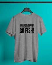 FISHING PLEASURES Classic T-Shirt lifestyle-mens-crewneck-front-3