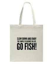 FISHING PLEASURES Tote Bag thumbnail