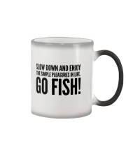FISHING PLEASURES Color Changing Mug thumbnail