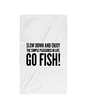 FISHING PLEASURES Hand Towel thumbnail