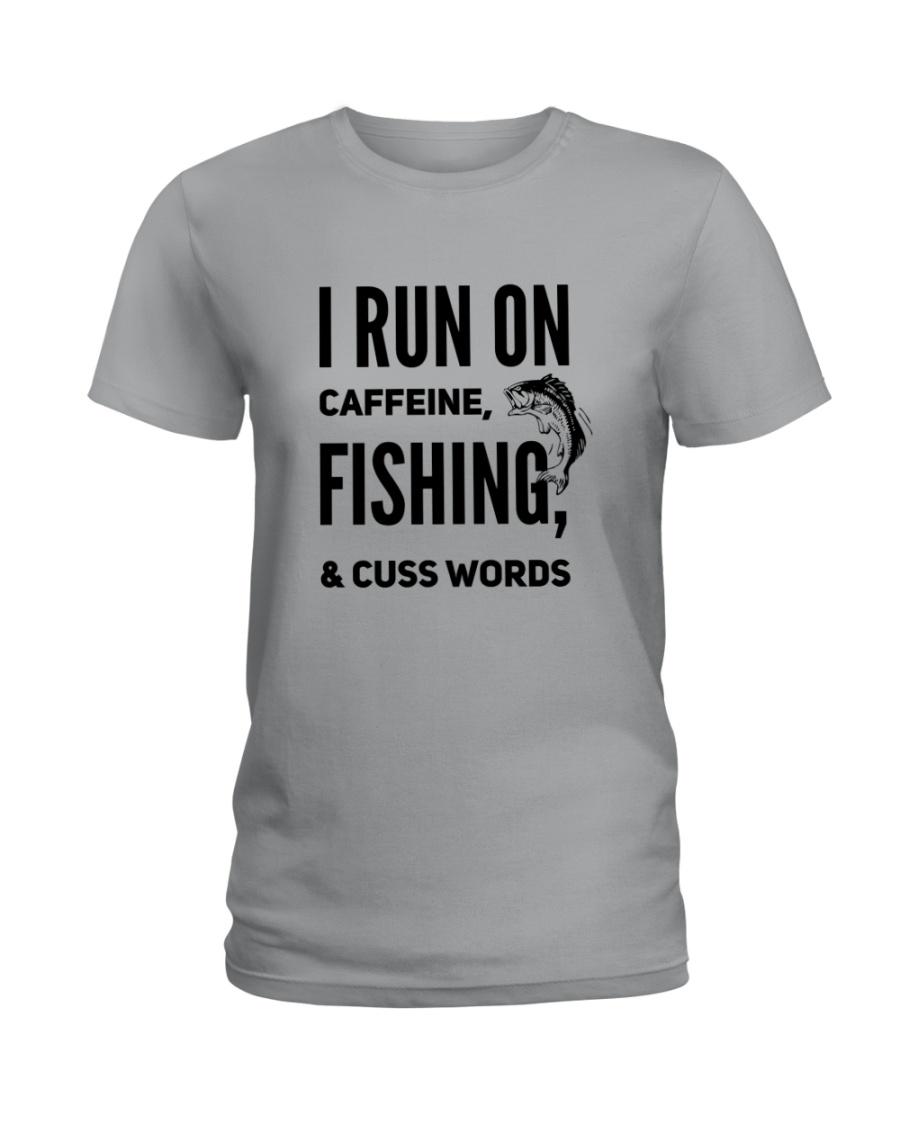 FISHING RUN Ladies T-Shirt