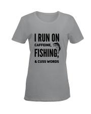FISHING RUN Ladies T-Shirt women-premium-crewneck-shirt-front