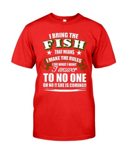 I BRING THE FISH